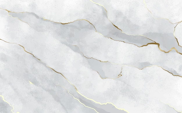 Stone background with golden strokes Free Vector