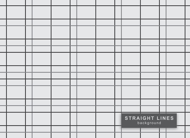 Образец прямых линий Premium векторы