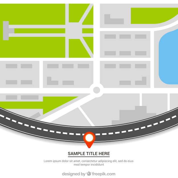 gps map database vector roads france