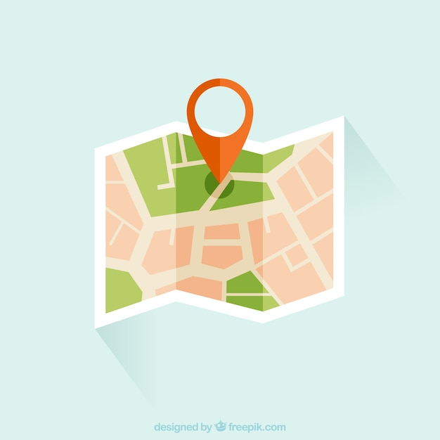 Street map Premium Vector