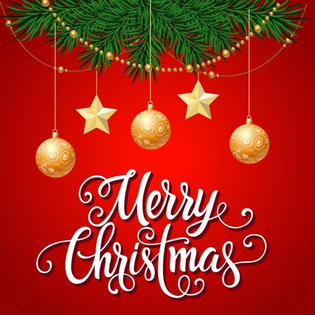 Christmas Decoration Pics striped background with christmas decoration hanging vector
