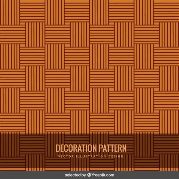Striped vintage decoration pattern Free Vector