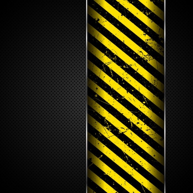 Stripes over metal background Free Vector
