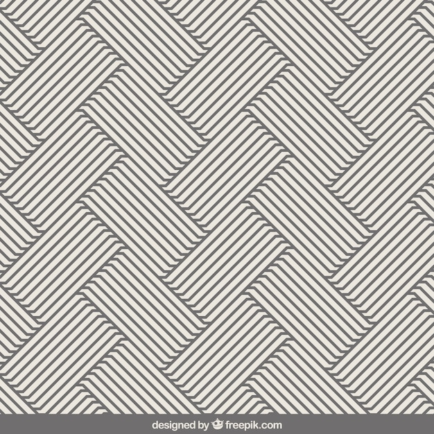 Gray Stripe Pattern Ve...