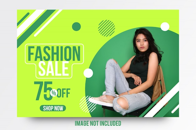 Stylish abstract offer banner template Premium Vector