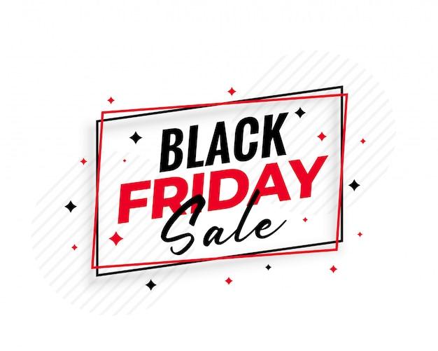 Stylish black friday sale background Free Vector