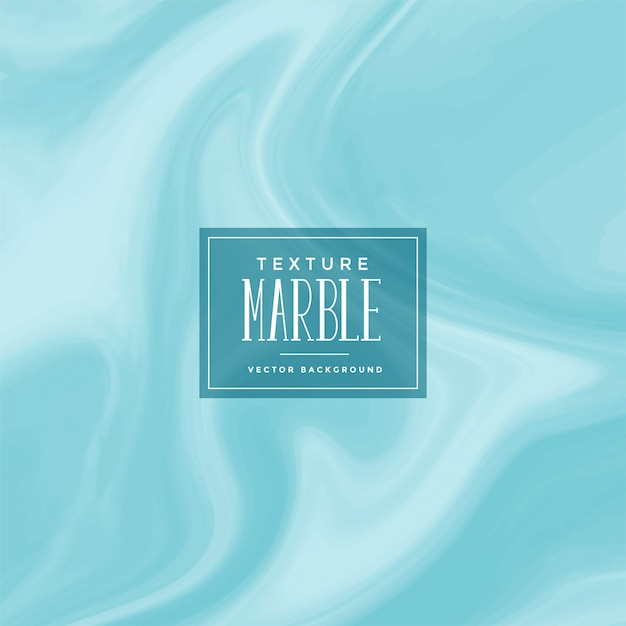 Stylish blue marble texture background Free Vector