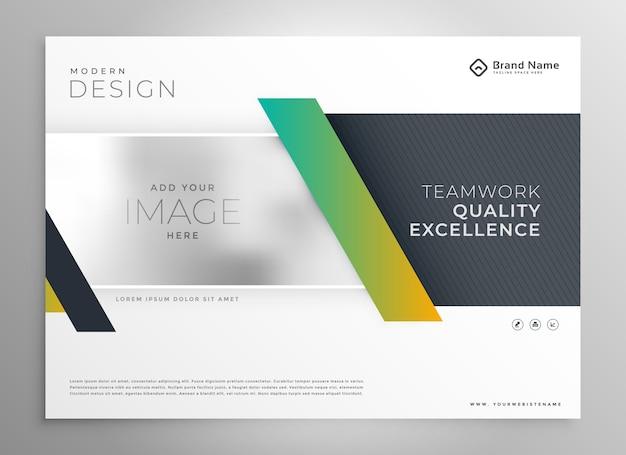 Стильная бизнес-презентация современный шаблон дизайна Бесплатные векторы