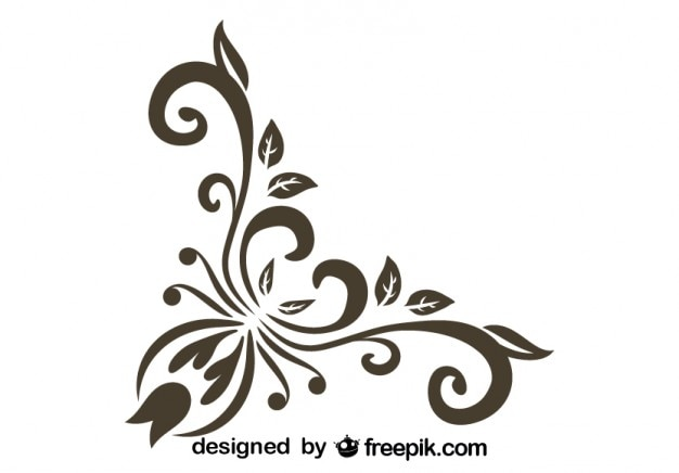 08f8a859873836 Stylish corner vintage graphic element Vector   Free Download