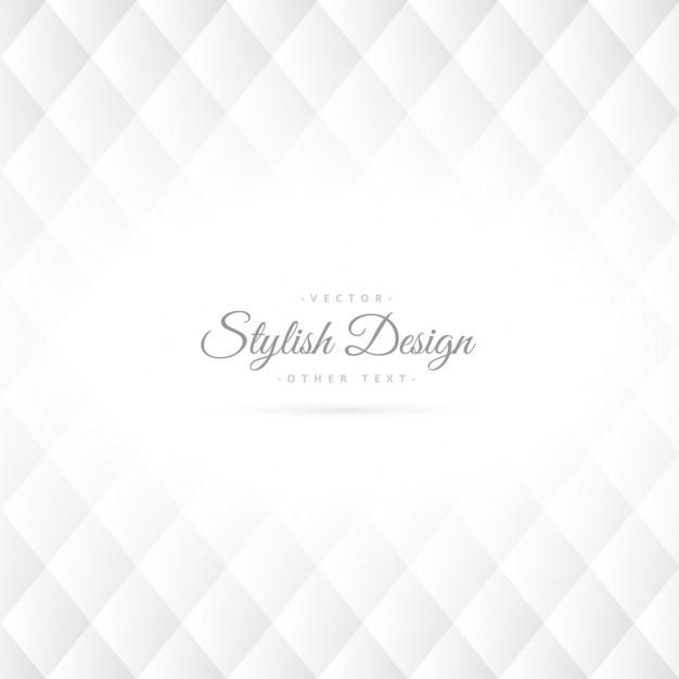 Stylish geometric rhombus shape background Free Vector