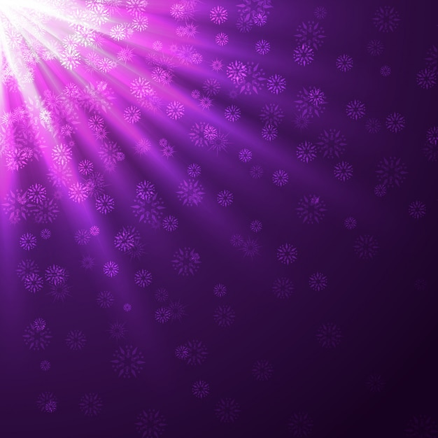 Stylish purple rays   background Premium Vector