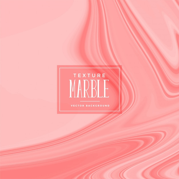 Stylish rose color liquid marble texture Free Vector