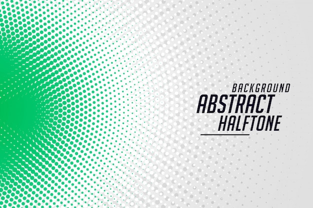 Stylish round halftone banner abstract background design Free Vector