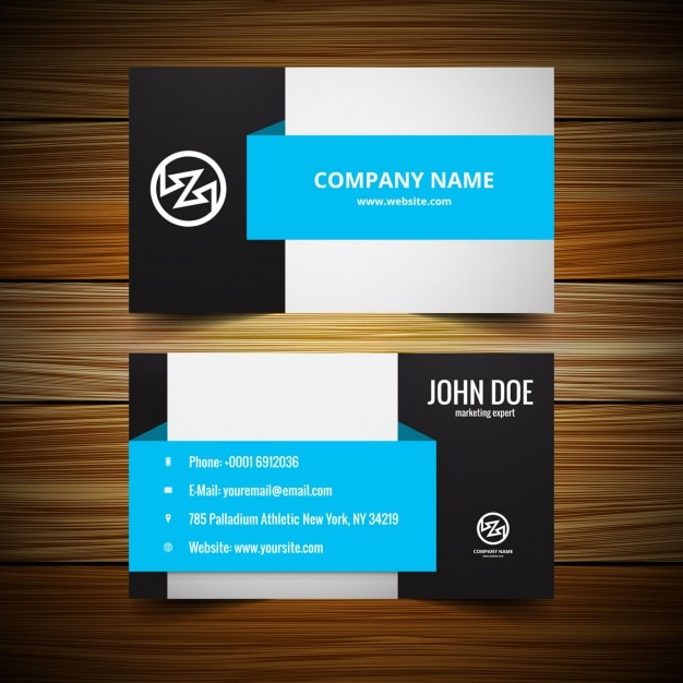 Stylish Visiting Card Template Vector | Free Download
