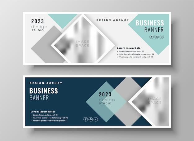スタイリッシュなwebビジネス現代のfacebookカバーまたはヘッダーテンプレートデザイン 無料ベクター