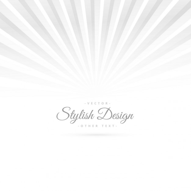 Stylish white background with rays Vector | Free Download