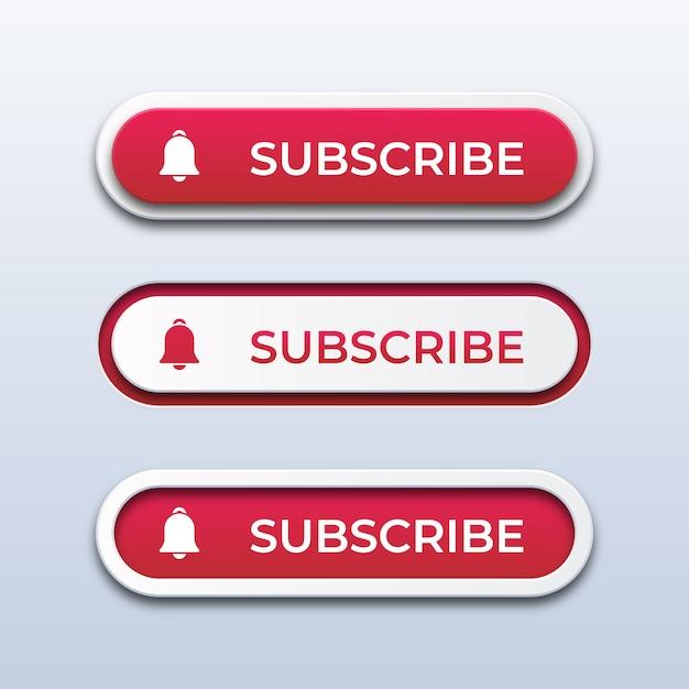 Кнопки подписки Premium векторы