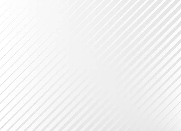 Subtle white background with diagonal lines Free Vector