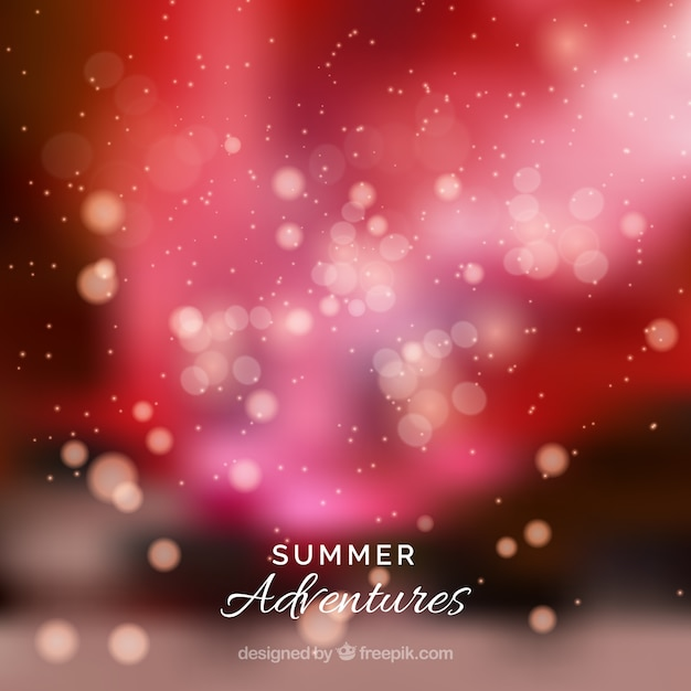 Summer adventures abstract background