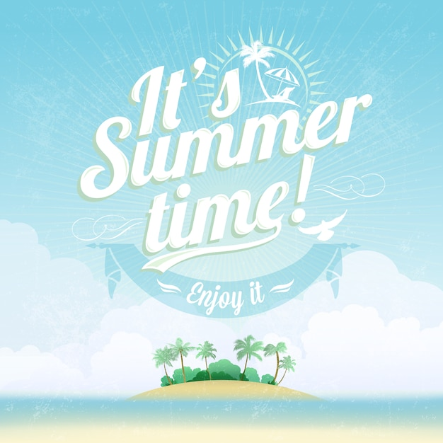Summertime Vectors, Photos and PSD files | Free Download