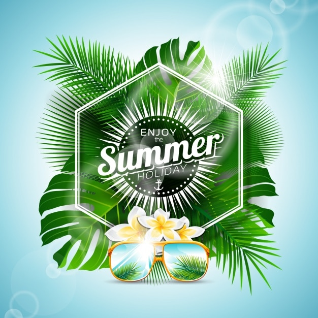 Summer background design vector free download Blueprint designer free