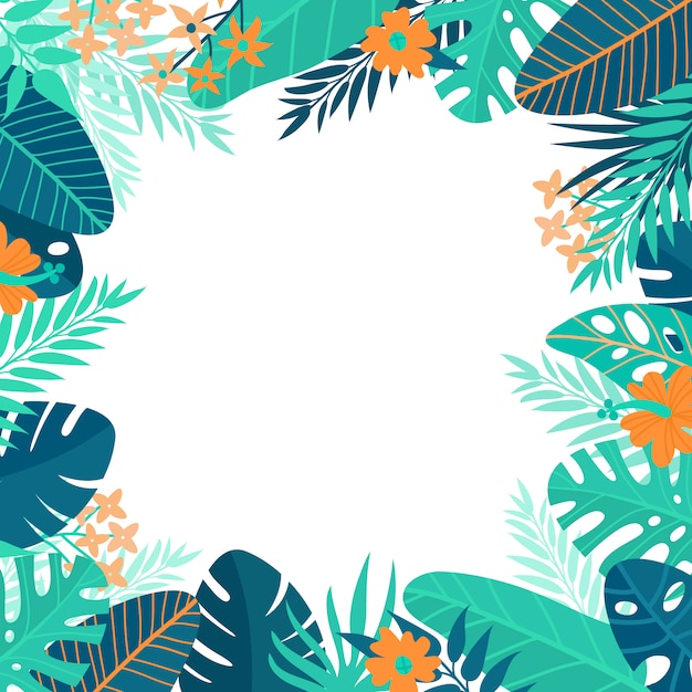 Summer background design Vector | Free Download