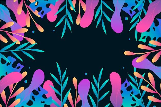 Concetto di estate sfondo disegnato Vettore gratuito
