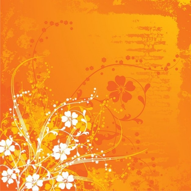Summer background with flowers. Orange. Perfect\ for scrap