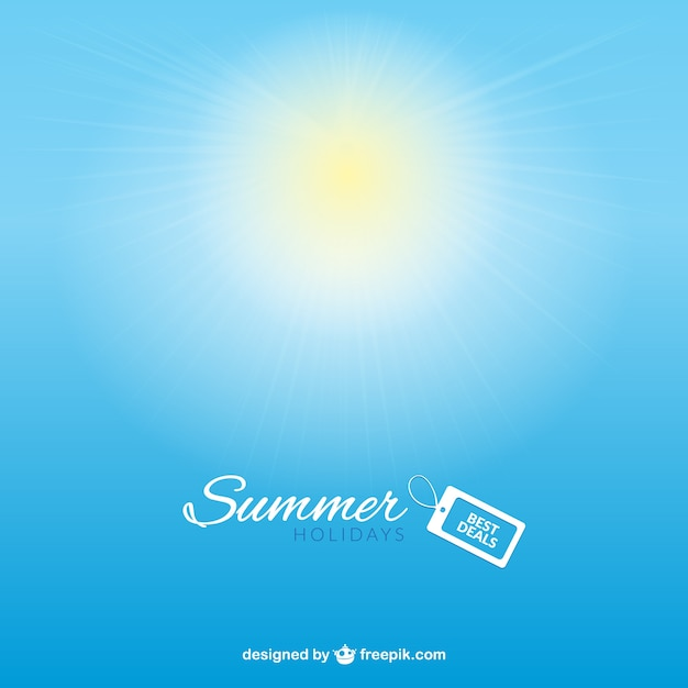 Summer deals background