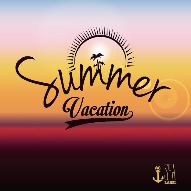 Summer design Premium Vector