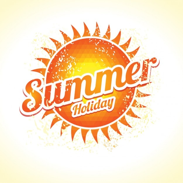 summer holiday background vector free download