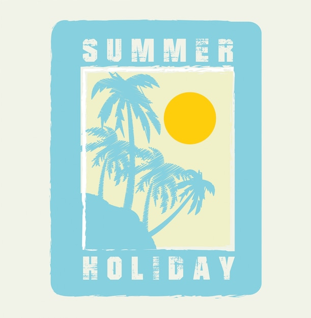 Summer holiday Premium Vector