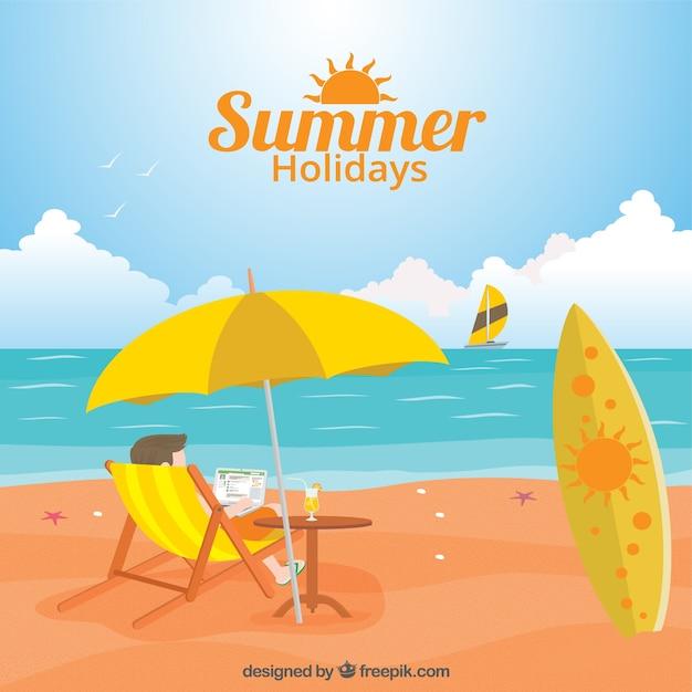 Каникулы лето картинки