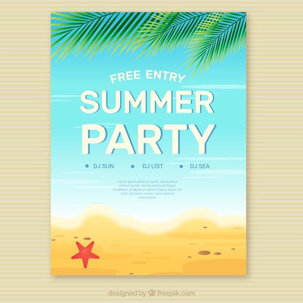 invitation summer party