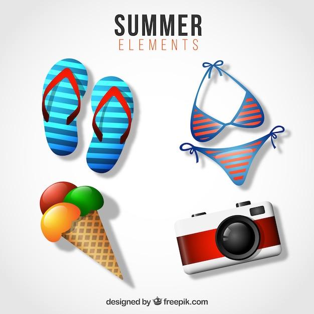 Summer vacation equipment