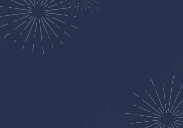 Sunburst background design in blue vector Free Vector