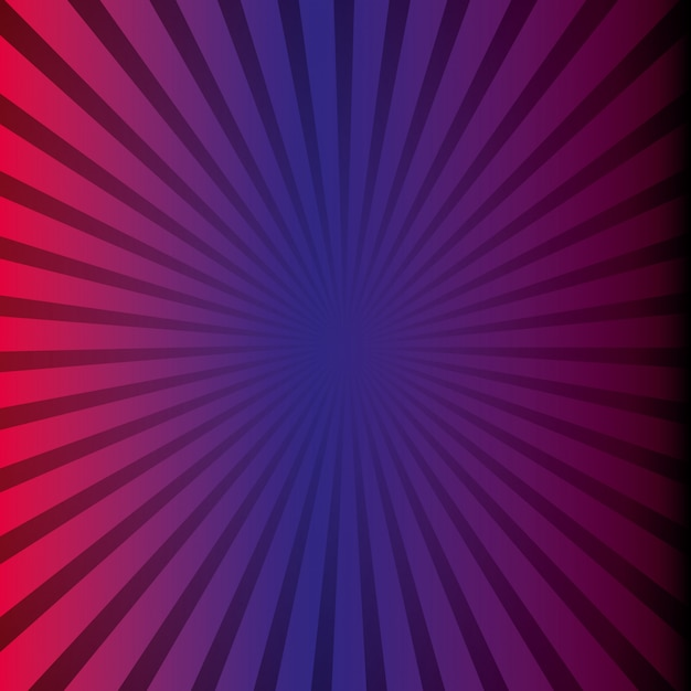 Sunburst pattern Free Vector
