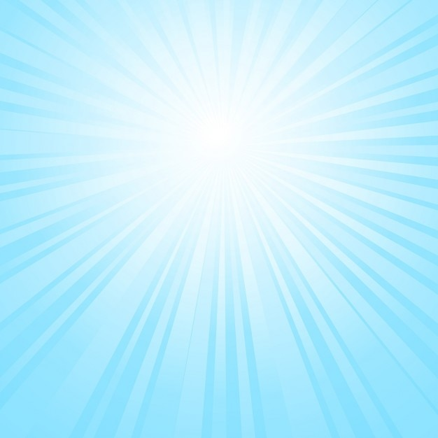 Sunburst sky background Free Vector