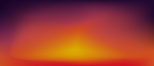 Sunset Gradient Background Vector Premium Download