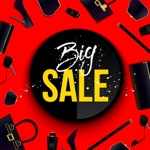 Super big sale special offer banner. Premium Vector