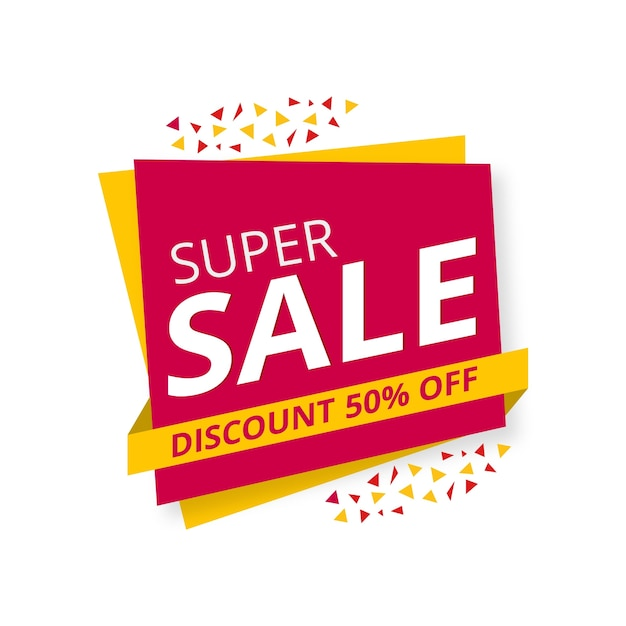 Super offers background Free Vector