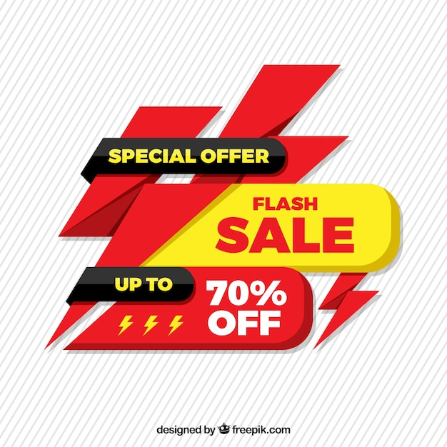 Super vendita di sfondo Vettore gratuito