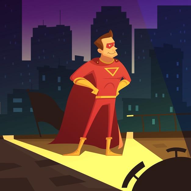 Superman Free Vector
