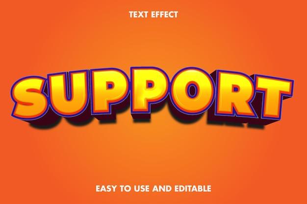 Поддержка текстового эффекта. легко использовать и редактировать. Premium векторы