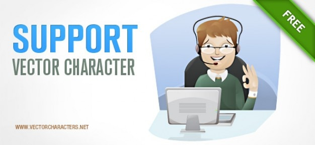 Support vector character Vector | Free Download