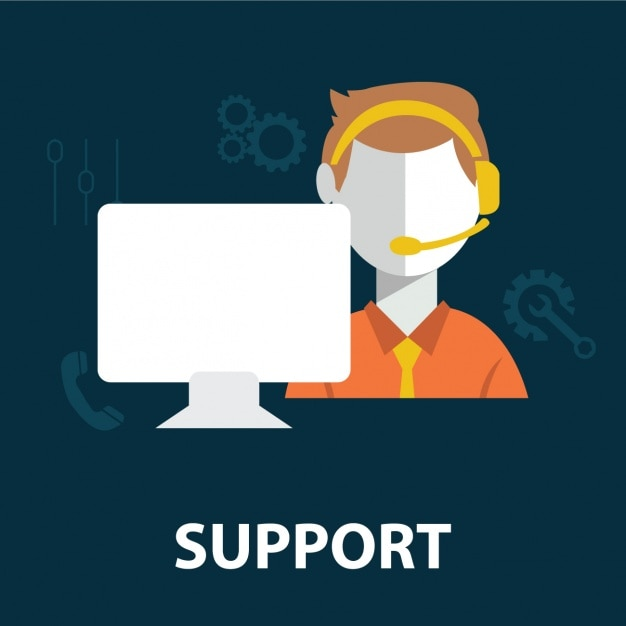 Support worker Free Vector