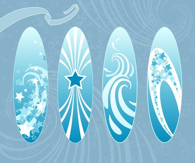 Surfboards Free Vector