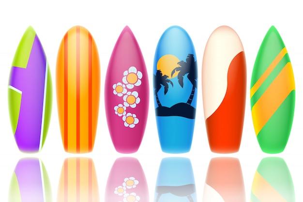 Surfboards Premium векторы