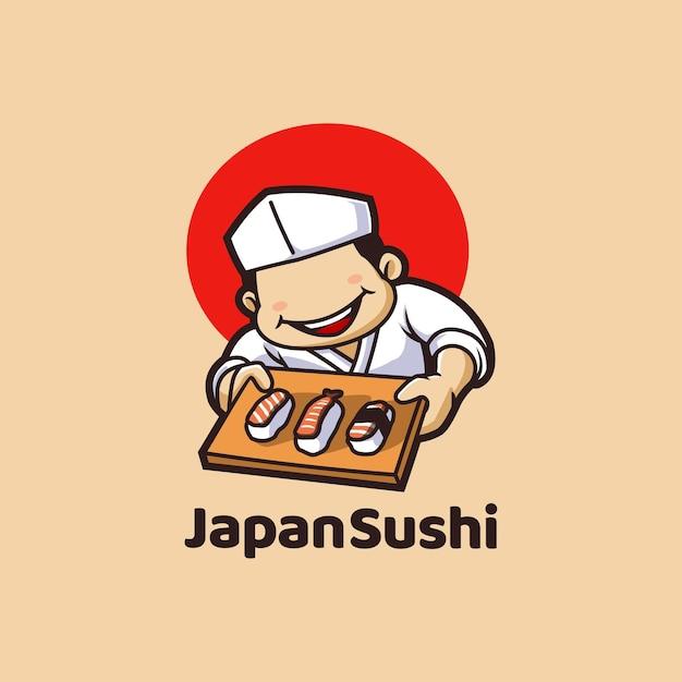 寿司ジャパンレストランシーフードアジアン Premiumベクター