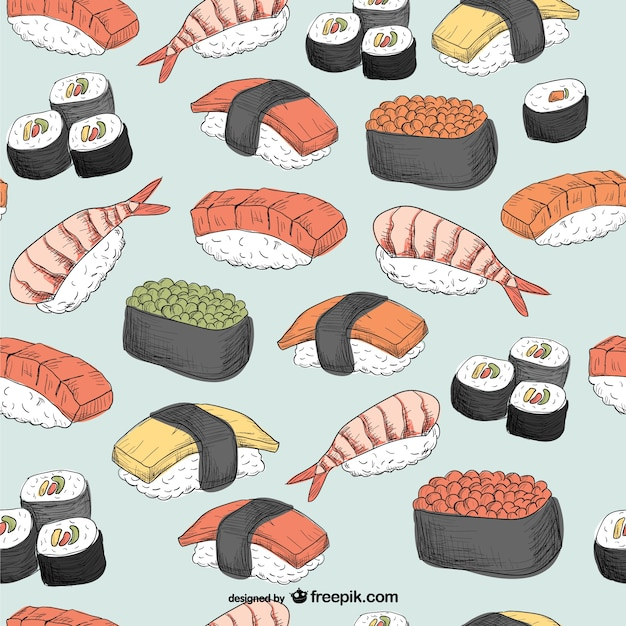 sushi in japanese writing